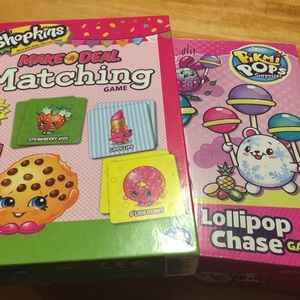 Game Bundle:Shopkins Matching & Lollipop Chase